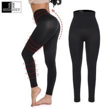 Miss Moly Woman Workout Leggings Fitness Leggins Black Nylon legins High Waist Female Sport Push Up Slimming Control Panty