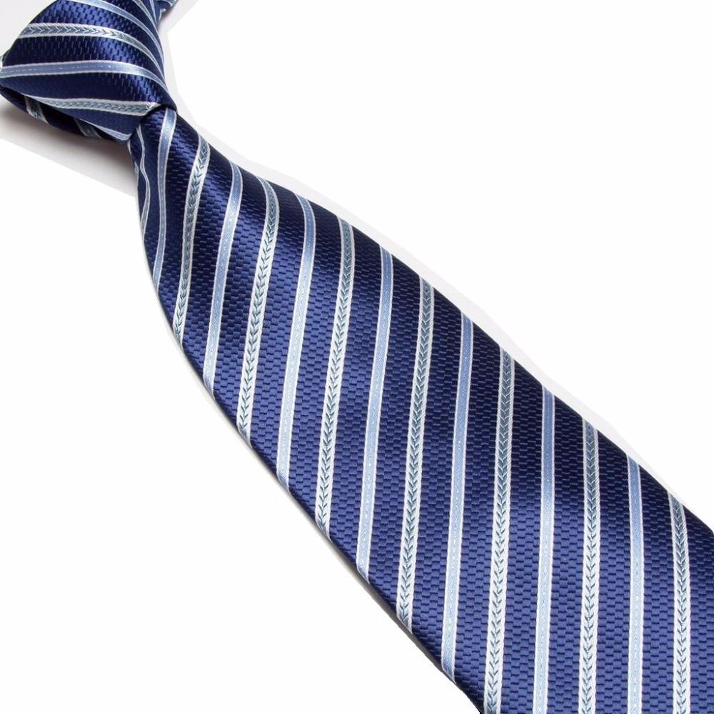 HOOYI 2018 new striped Mens Neck ties for men neckties