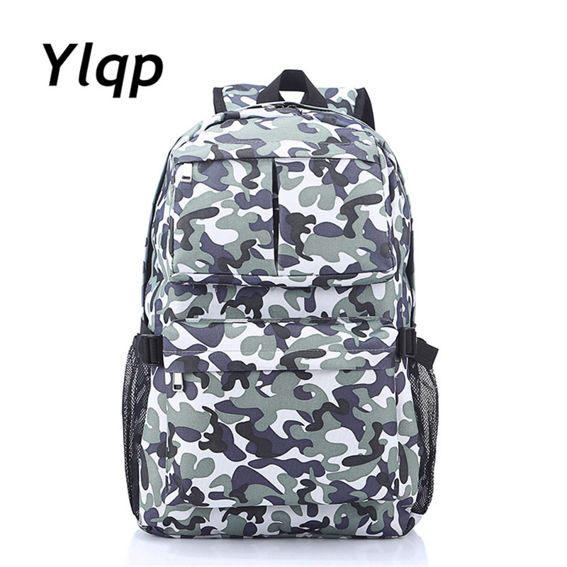 2018 New Fashion Camouflage Backpacks Women Waterproof backpack Male Student School Bags for teenage girls backpacks 2016 fashion women waterproof pu leather rivet backpack women s backpacks for teenage girls ladies bags with zippers black bags