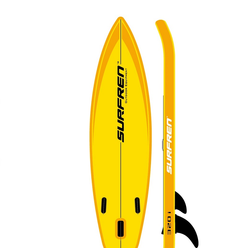 Inflatable Surf Stand Up Sup paddle board iSUP Surfing Paddleboard SURFREN All Round320i wakeboard kayakboat size320 81 15cm in Surfing from Sports Entertainment