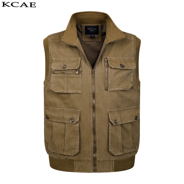 Mens Sleeveless jacket cool vests photographer coats men vest  clothing jacket