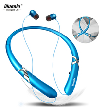 Bluenin Bluetooth V4.1 Headphone Wireless Stereo Headset Sport Bluetooth Audifonos Handsfree In ear earphone for iphone 7 xiaomi fatmoon x19c bluetooth earphone earhook wireless headset in ear bluetooth headphone handsfree sport microphone for xiaomi iphone