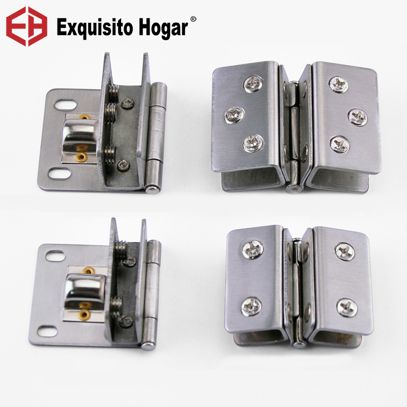 Stainless Steel Cabinet Hardware Free Glass Hinge Up And Down Glass Coupling Head Joint Hinge  Display Furniture PageStainless Steel Cabinet Hardware Free Glass Hinge Up And Down Glass Coupling Head Joint Hinge  Display Furniture Page