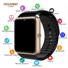 Bluetooth Smart Watch for Iphone Phone for Huawei Samsung Xiaomi Android Support 2G SIM TF Card Camera Smartwatch GT08 PK A1 Z60(China)