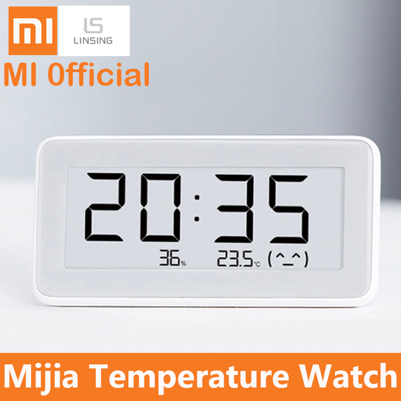 Xiaomi Mijia Bt4.0 Temperature And Humidity Monitor Electronic Sensor Screen Humidity Thermometer For Mihome APP Digital