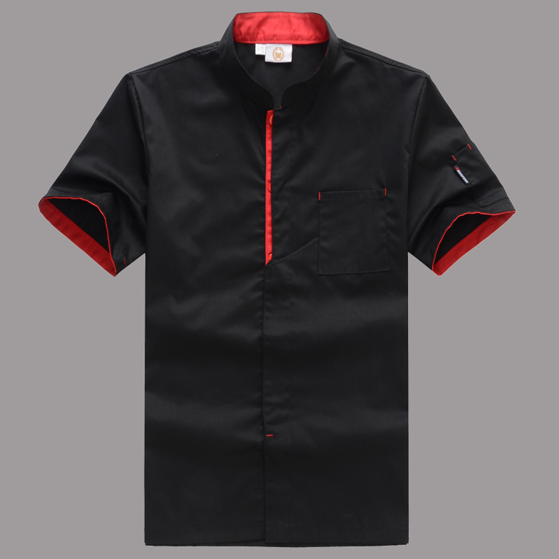 Chef Jacket Short-sleeved Chef Uniform Cooking Clothes