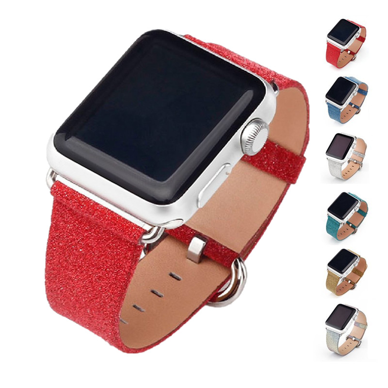 ASHEI Watch Band for Apple Watch Strap Series 3 Series 2 Series 1 Women Leather Bracelet Wristband for iWatch Belt 38mm 42mm cowhide genuine leather strap watch band for apple watch iwatch series 1 series 2 38mm 42mm wristband replacement with adapter