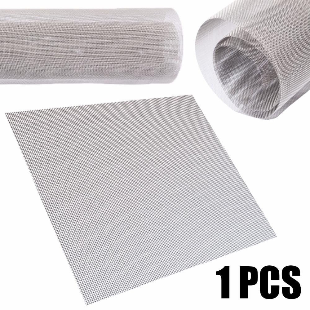 1 шт. 60 сетка тканая проволочная ткань фильтрация экрана 304 нержавеющая сталь 30x30 см с высокой термостойкостью