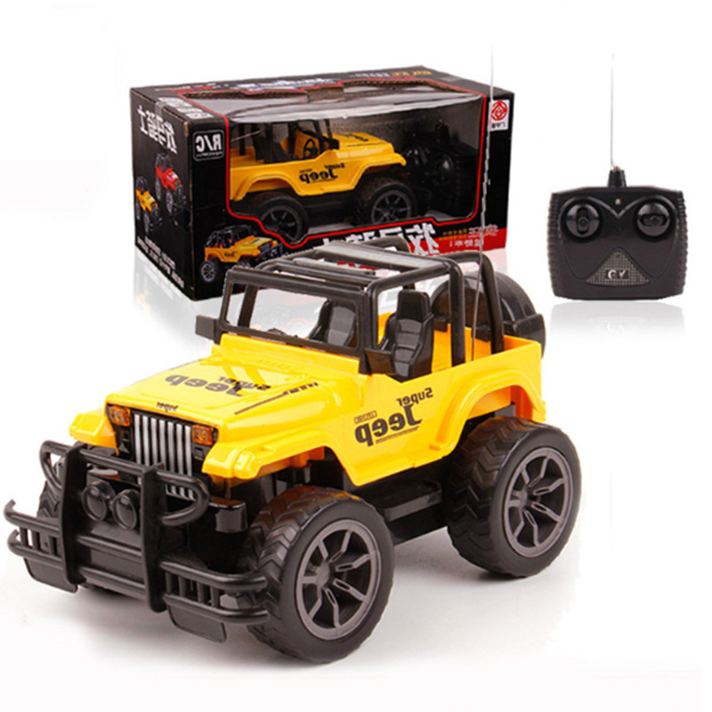 new arrival 124 rc car 4ch drift speed radio remote control jeep dirt bike with light best gift for kids