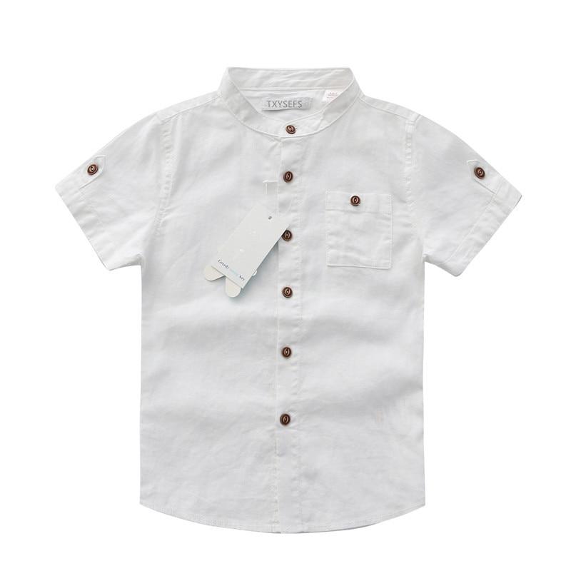 Shirts Mutter & Kinder FleißIg Sommer Kinder Shirts Modische Baumwolle Kragen Boysshirts Kurzen Ärmeln Kinder Shirts Großhandel Den Speichel Auffrischen Und Bereichern