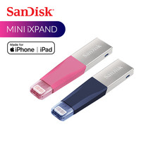 SanDisk USB Flash Drive iXPand OTG Lightning Connector U Disk USB 3.0 Stick 32GB 64GB 128GB Pen Drives MFi for iPhone & iPad