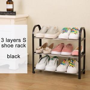 Image 3 - โมเดิร์นแฟชั่นรองเท้า Organizer รองเท้าตู้รองเท้าตู้เสื้อผ้าประกอบพับเฟอร์นิเจอร์อเนกประสงค์รองเท้า Rack