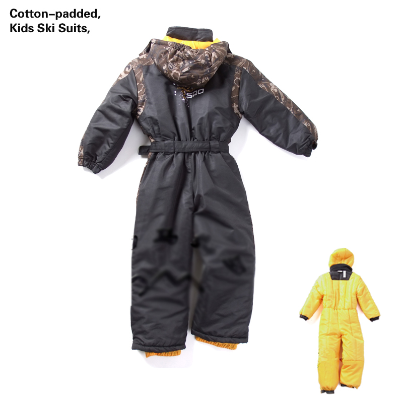 Snowsuit Winter Baby Ski Suits Cotton-padded Kids Boys Outdoor Coat Children Ski Suit size 1 2 3 4 5 6 years old 2017 winter coat grandma installed in the elderly women 60 70 80 years old down jacket old lady tang suit