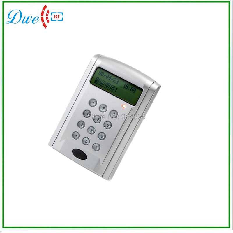 ФОТО LCD keypad and door bell bulton reader for door access control system