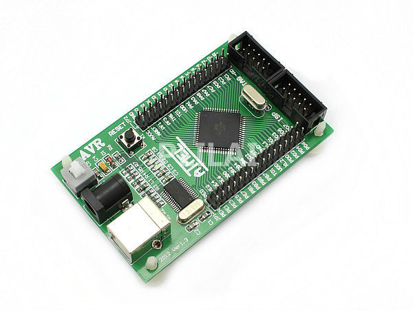 ATmega128 AVR development board mega128 minimum system with USB cable