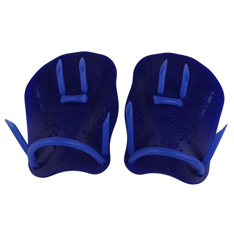 2017 Children Swimming Diving Webbed font b Gloves b font Frog Finger Fin Paddle Polypropylene Diving