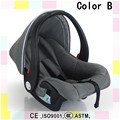 2016 Hot Sale 3 Point Safety Harness   newborn Car Basket Comfortable Portable Baby Car Seat Rear-facing Installation Safer