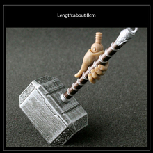 1:6 scale accessories soldier weapon toy 8 CM Length Raytheon Thor Hammer Alloy for 12 modelismo action figure doll