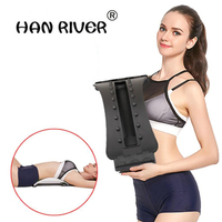 HANRIVER Back Magic Plus Waist Relax Mate Multi Level Back Stretching Back Massage Magic Stretcher Fitness