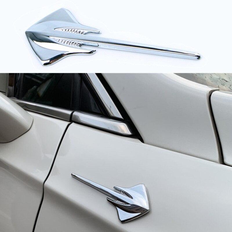 Pegatina 3D para coche con emblema de Fender