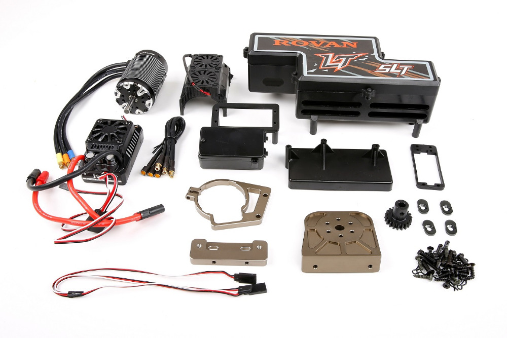 NEW Electric Oil change power Conversion kit for 1/5 losi 5ive-t rovan lt slt rc car parts new cnc rear lower suspension set for losi 5ive t rovan lt