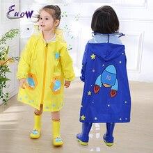 Creative Space Children Raincoat Kids Waterproof Rain coat Cover Poncho Rainwear Hooded Impermeable