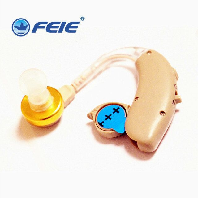 2018 FEIE New arrival Deafness Earphone ears aparats Sound Enhancer Behind ear hearing aid S-137 free shipping feie rechargeable hearing aid earphones s 101 bluetooth style behind ear sound amplifier usb charger free shipping