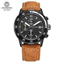 Bracelet en cuir Montre Homme Top Marque De Luxe Montre Homme Militaire Sport Main Horloge Hommes Montre Reloj Hombre Casual Bracelet À Quartz montres