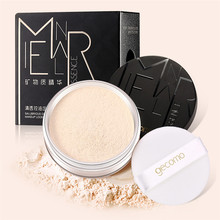 Oil Control Makeup Loose Powder Anti Sweat Does Not Take Off Makeup Loose Powder Matte Finish Transparent Setting Powder(China)