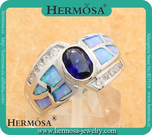 925 Sterling Silver jewelry Australian Opal Rings IN STOCK Size 7 free shipping