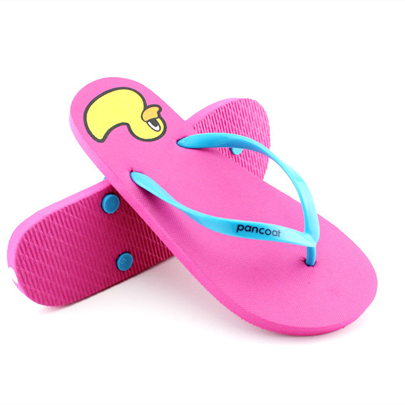 Summer FlipFlops EVA Womens Shoes Slip-on Sweet Catoon Pink Thong Sandals Blue Flat US Size 6-9 Beach Shoes сковорода блинная 26см dilusso 1208661