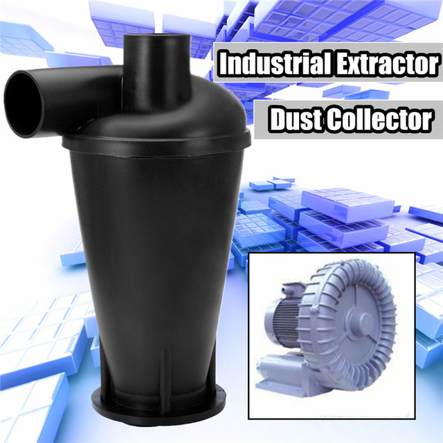 Industrial Extractor Dust Collector Cyclone SN50T3 Woodworking Vacuum Cleaner Filter Dust Separation  Catcher Turbo With Flange
