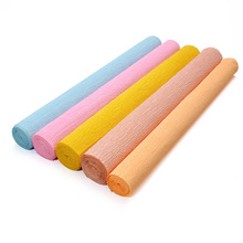 250*50CM Colored Crepe Paper Roll For DIY Flowers Decoration Gift Wrapping Craft 20 Colors Available