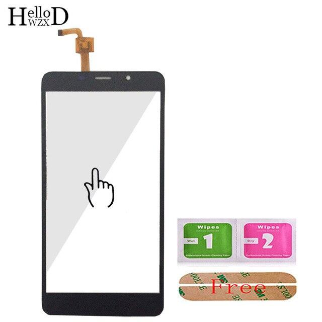 5.7 cal ekran dotykowy do telefonu dla Leagoo M8/M8 Pro dotykowy digitalizator do szkła ekranu Panel obiektywu czujnik klej do szkła prezent
