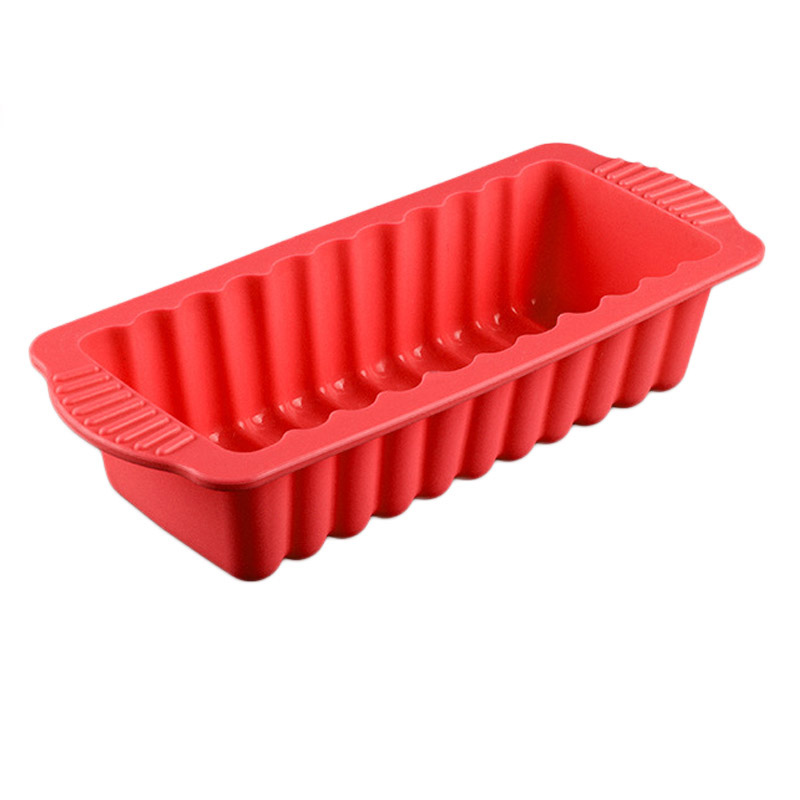Silicone Rectangular Shape Toast Bread Cake Pan Mold Baking Tool For Brownie Chiffon Sponge Bakeware Accessories