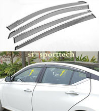 FIT FOR  Nissan Altima Window Visor Vent Shade Rain/Sun/Wind Guard 4PCS 2019