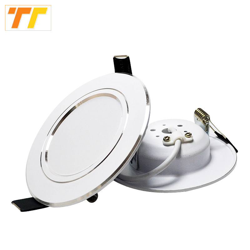 High power Led Downlight white 3W 5W 7W 9W 12W 15W 18W 220V LED Ceiling bathroom Lamps living room Home Indoor Lighting image