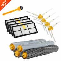 Filtres HEPA Brosses Kit De Pièces De Rechange pour iRobot Roomba 980 990 900 896 886 870 865 866 800 Kit d'accessoires