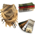 Fashion Unisex Lightweight Military Arab Tactical Desert Army Shemagh KeffIyeh Scarf