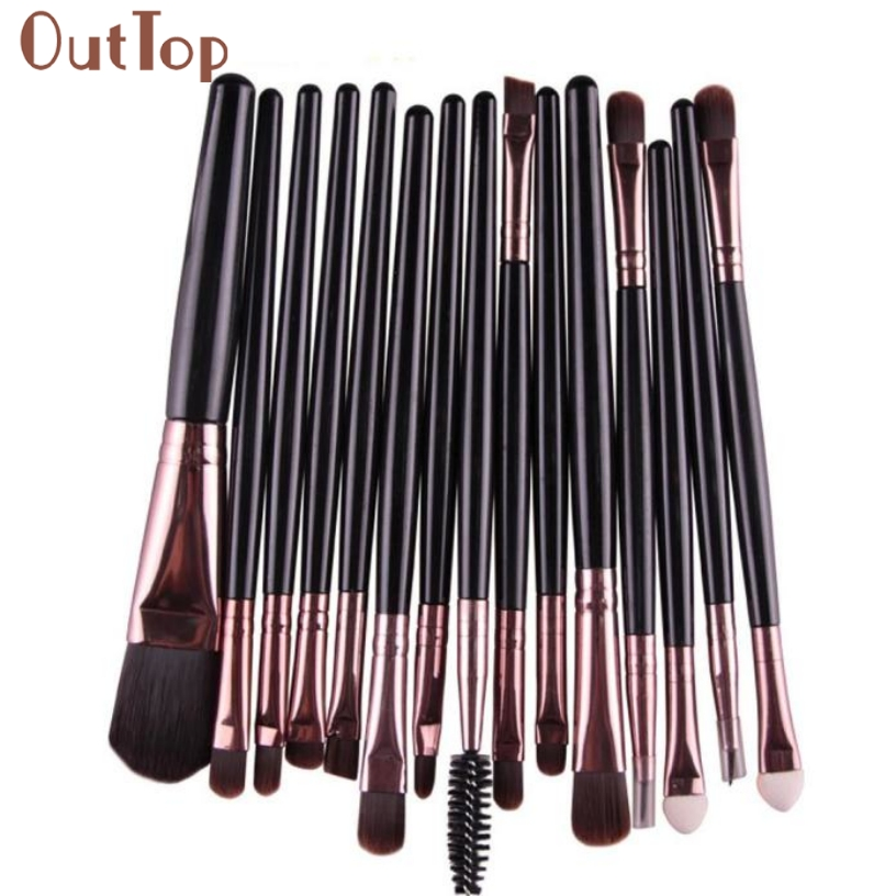 Professional Cosmetic Makeup Brush Women Foundation Eyeshadow Eyeliner Lip Brand Make Up Eye Brushes Set 6pcs purple pink hair makeup brushes professional flat eyelashes eyeshadow brush cleaner eye make up eyeliner blusher face brush