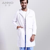 Wonmen And Men White Medical Lab Coat Clothing Medical Services Uniform Nurse Clothing Long Sleeve With