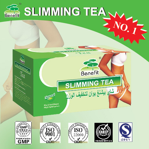 2 Boxes Benefit Slimming Tea Green Tea Blended Natural Herbs Herbal
