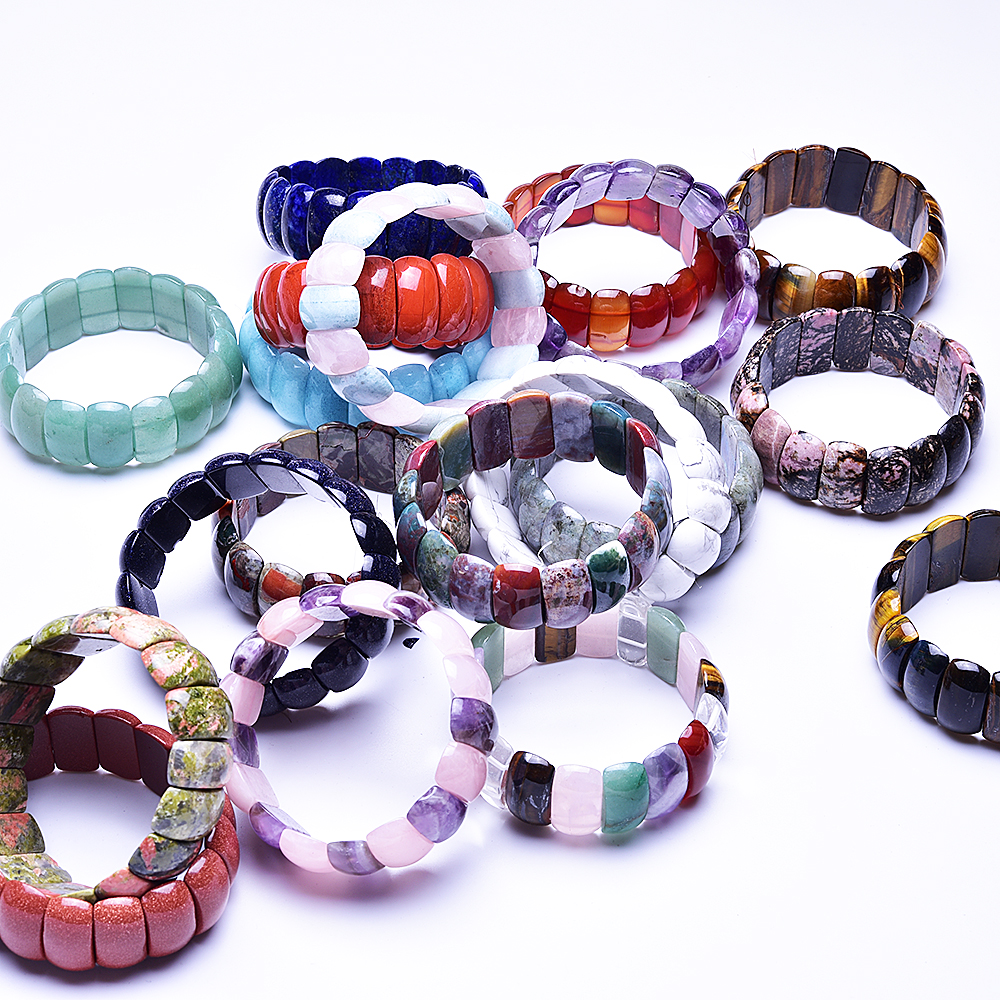 Natural Stone Bracelet Jewelry Handmade Natural Stone Beads Bracelet Man 39 s Bracelets Creative Gifts in Strand Bracelets from Jewelry amp Accessories