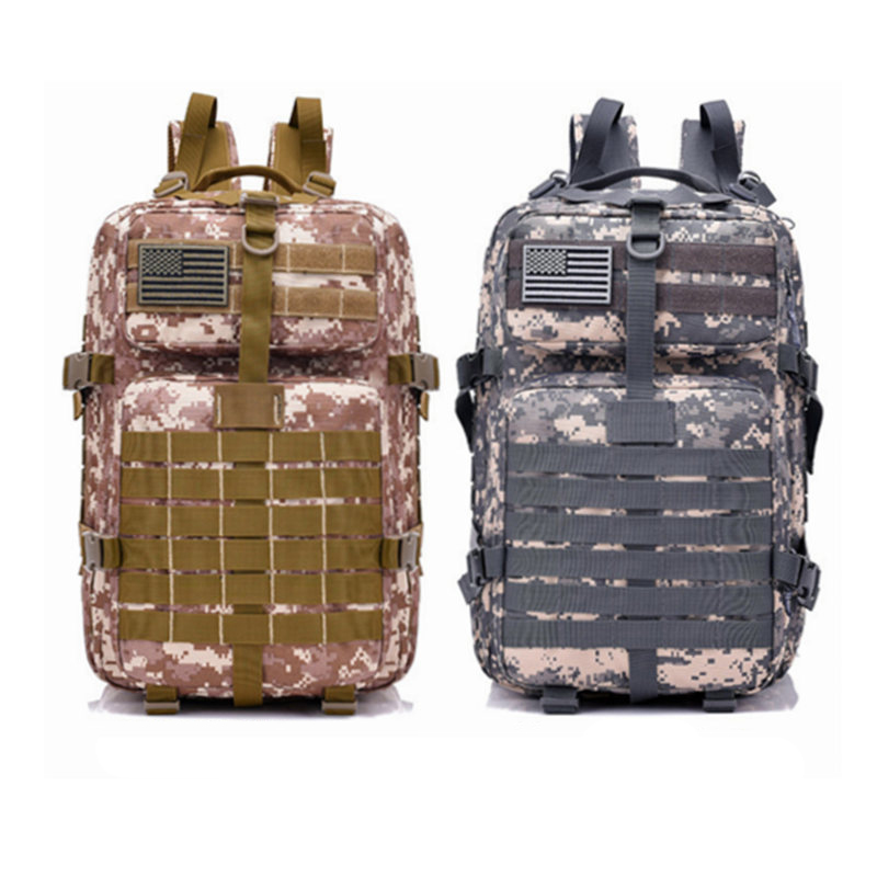 Tactical Bag Army Camouflage On Foot 40L Sling Backpack Military Waterproof Hiking Camping Hunting Travel Climbing Sports Pack military army tactical molle hiking hunting camping back pack rifle backpack bag climbing bags outdoor sports travel bag