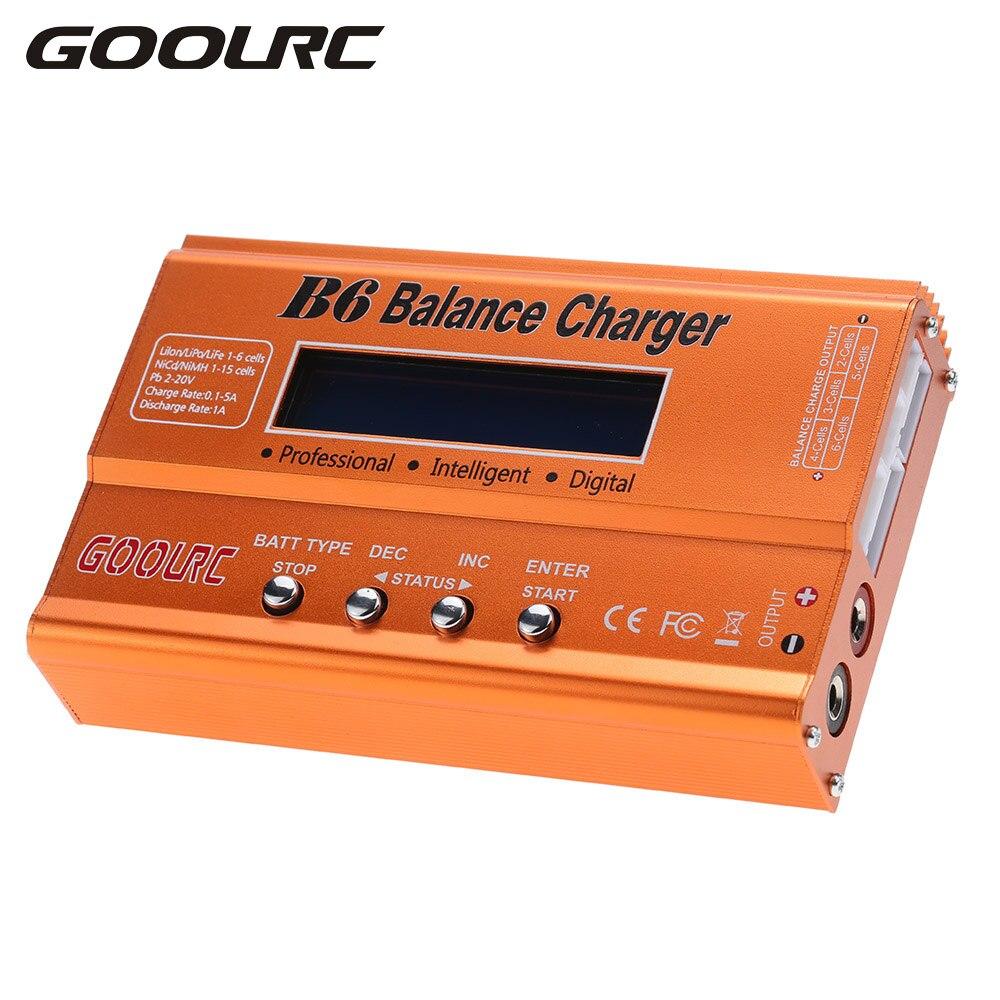 GoolRC Original RC Drone Teile B6 Mini Multi-funktionale Balance Ladegerät Entlader für LiPo Lilon Leben NiCd NiMh Pb batterie