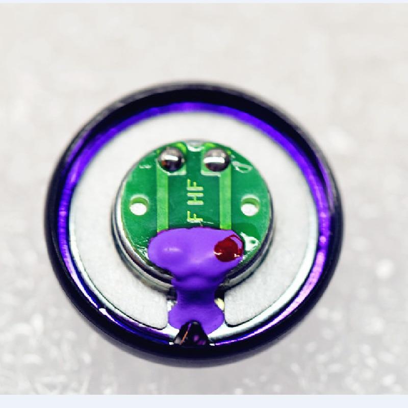 2 個 15.4 ミリメートル 600 オームベリリウムフラットヘッドホンスピーカー高周波ドライバーユニット用 MX500 DIY  グループ上の 家電製品 からの イヤホン用アクセサリー の中 1