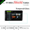 8.0 inch 9H 0.33mm Shield Tablet Glass Screen Protector For NVIDIA Shield Tablet tempered glass screen Protector 100% suit