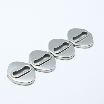 4PCS high quality Stainless Steel Door Lock Buckle Protective Cover Auto Case For Toyota 86 GT86 FT86 2012-2019 Car Styling image