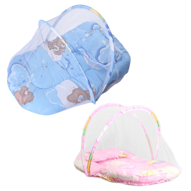 Print Folding Type Baby Mosquito Insect Cradle Bed Netting