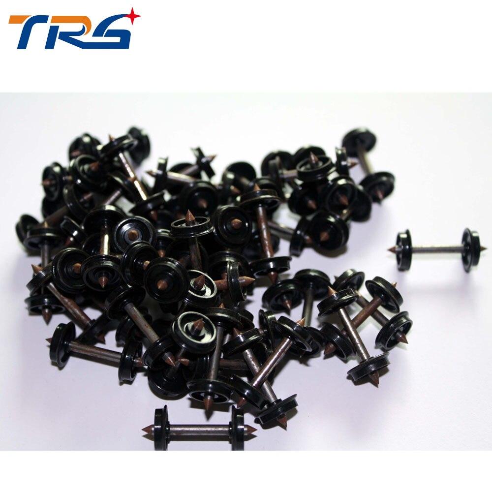 20pcs HO Proportional train model wheels 1:87 scale train accessories